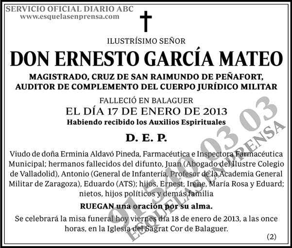 Ernesto García Mateo